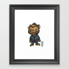 Bugbear has a job interview Framed Art Print