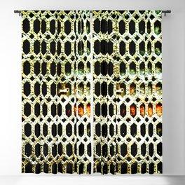 Dystopian Detail Blackout Curtain