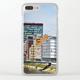 Düsseldorf, Germany Cityscape Clear iPhone Case