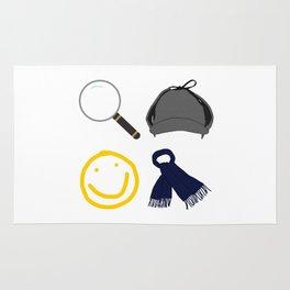 Sherlock Items Rug