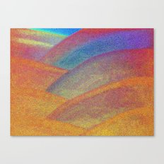 Gold and Rainbow Canvas Print
