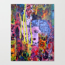 Relapse to Donnybrook Canvas Print