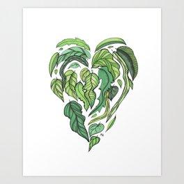 Hard Love II Art Print