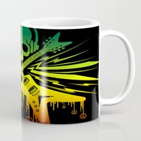 punk rock Mugs featuring punk rock  by jhun21