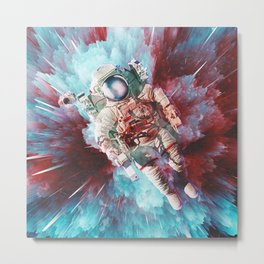 Chroma Void Metal Print