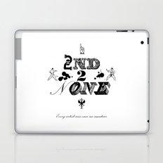 2nd 2 None : black Laptop & iPad Skin