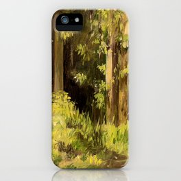 Woodland Landscape Nature Art iPhone Case
