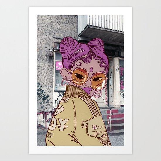 FUROR Art Print