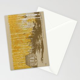 House in an Aspen Clearing Stationery Cards