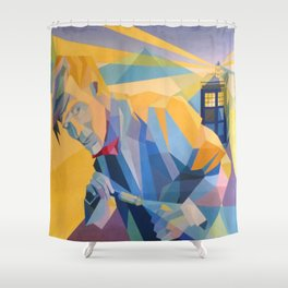 Doctor Who (Eleven) Shower Curtain