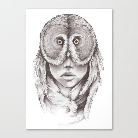 Owlhead Canvas Print