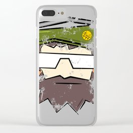 Captain Fitz Clear iPhone Case