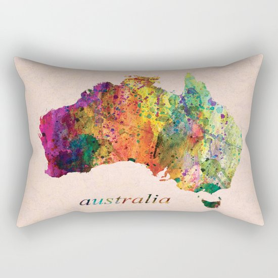 Australia  Rectangular Pillow