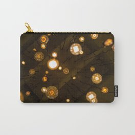 Abstract Light Carry-All Pouch