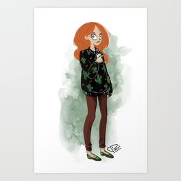 Rouxy Art Print