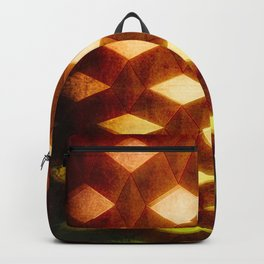 Trapez 1/5 Retro autumn by Brian Vegas Backpack