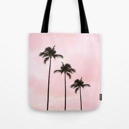 Palm Tree Photography Peach | Blush Pink | Millennial Pink | Miami Tote Bag