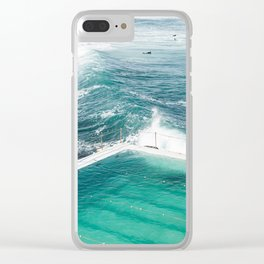 Bondi Icebergs Club Clear iPhone Case