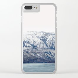 Winter Water Clear iPhone Case