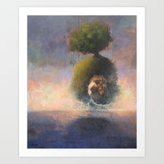 the argonaut Art Print