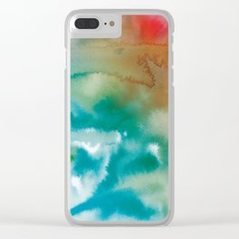 From Pain... Clear iPhone Case