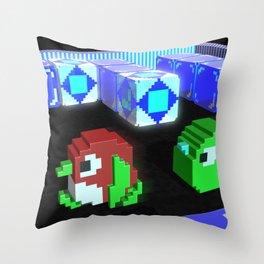 Inside Pengo Throw Pillow