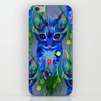 kittens iPhone & iPod Skins featuring Kittens by Sartoris ART