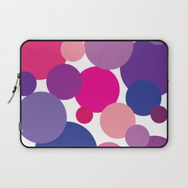 Cool Colors Bubble Circles Laptop Sleeve