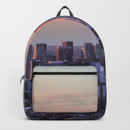 Sunset on the City Backpack