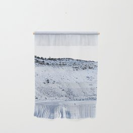 Kerid Crater In Winter, Iceland Wall Hanging