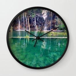 Colorado Hanging Lake Wall Clock