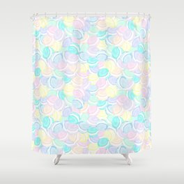 Many Macarons Treat Repeat Shower Curtain