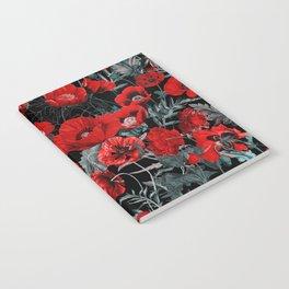 Poppy Garden Notebook