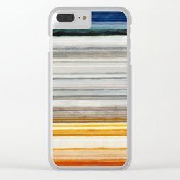 Colorbands Yellowstone Clear iPhone Case