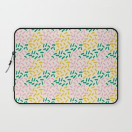 Field of lines in pastel Laptop Sleeve
