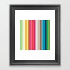 Rainbow Colors! Framed Art Print