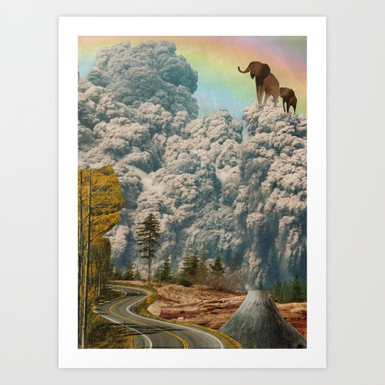 fiction of fantasy Art Print