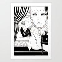 àR Art Print