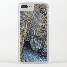 Hartland Quay Devon Clear iPhone Case