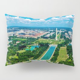 DC from Above Pillow Sham
