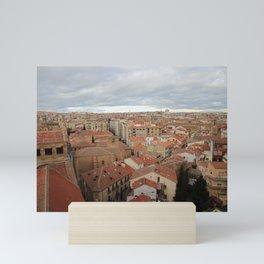 Salamanca Naranja  Mini Art Print
