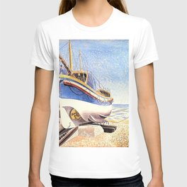 12,000pixel-500dpi - Eric Ravilious - The Lifeboat - Digital Remastered Edition T-shirt