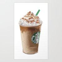 Starbucks clean Art Print