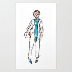 Jenna Lyons Art Print