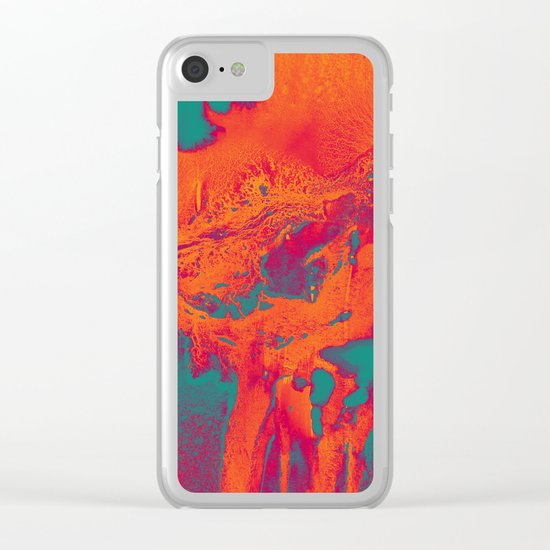 Alpha Clear iPhone Case