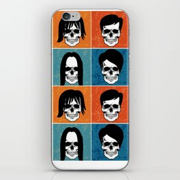 Hairstyles for Skulls iPhone Skin