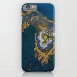 Island In The Blue iPhone Case