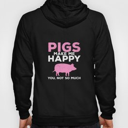 pig pig pigs boar sow farmer farmer Hoody
