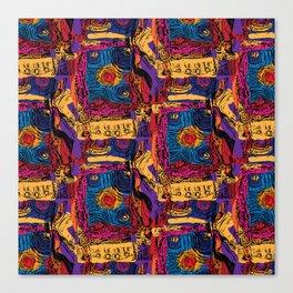 Wunderbar Abstract Canvas Print