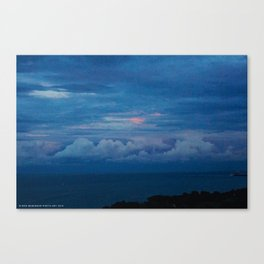 Painted Sky at Dusk (Chicago Sunrise/Sunset Collection) Canvas Print